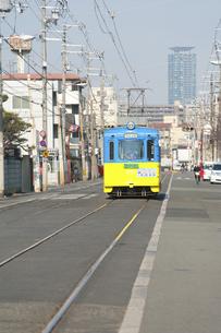 阪堺電車のイラスト素材 [FYI04254525]