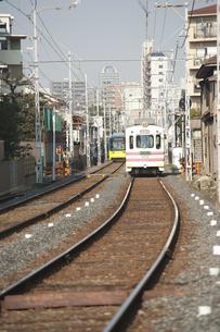 阪堺電車のイラスト素材 [FYI04254529]