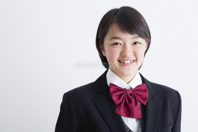 女子高生のポートレートの写真素材 [FYI04258574]