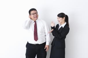 上司と部下の写真素材 [FYI04261685]