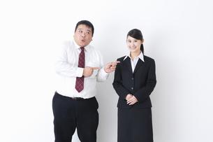 上司と部下の写真素材 [FYI04261695]