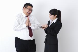 上司と部下の写真素材 [FYI04261762]