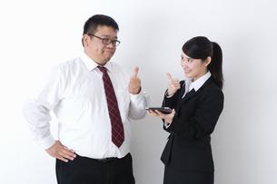 上司と部下の写真素材 [FYI04261765]
