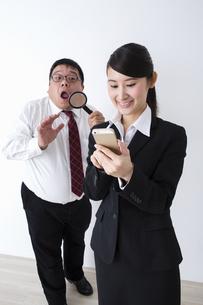 上司と部下の写真素材 [FYI04261790]