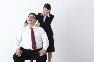 上司と部下の写真素材 [FYI04261809]