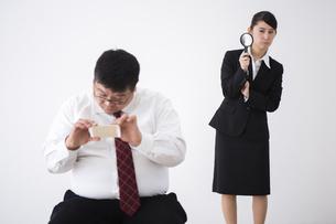 上司と部下の写真素材 [FYI04261815]