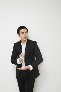 ひらめくビジネスマンの写真素材 [FYI04262938]