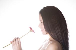 女性のポートレートの写真素材 [FYI04263453]
