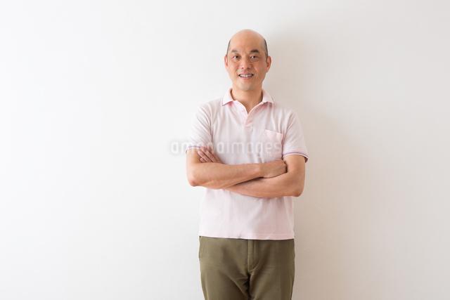 男性のポートレートの写真素材 [FYI04264458]