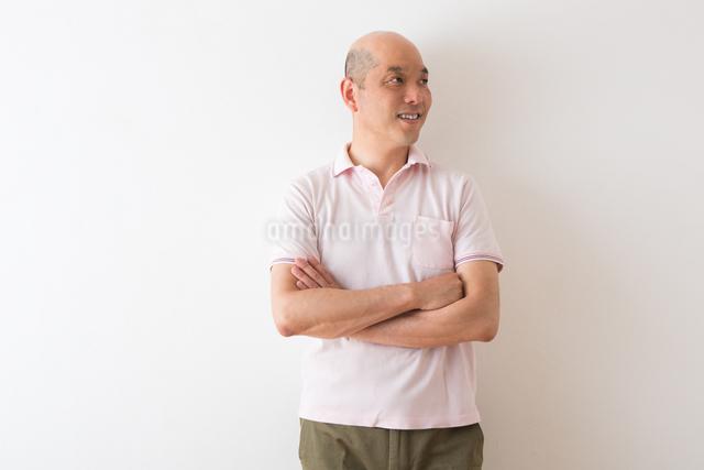男性のポートレートの写真素材 [FYI04264459]