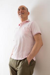 男性のポートレートの写真素材 [FYI04264462]