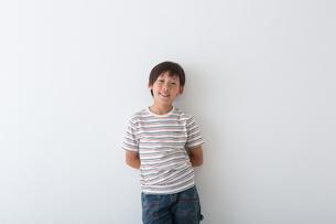 小学生のポートレートの写真素材 [FYI04264755]