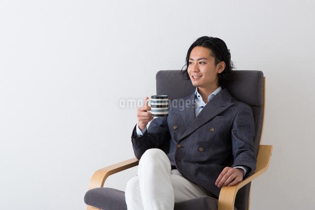 男性のポートレートの写真素材 [FYI04264812]