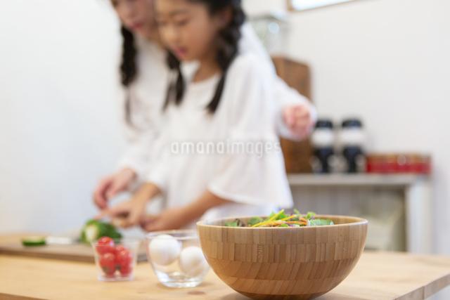 野菜の入ったボウルの写真素材 [FYI04268078]