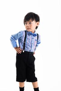 男の子のポートレートの写真素材 [FYI04268949]
