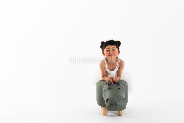 女の子のポートレートの写真素材 [FYI04268968]