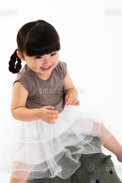 女の子のポートレートの写真素材 [FYI04268995]