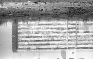 日本、東京都、大田区、六郷、多摩川、河川敷、昭和、昭和47年6月、昭和の記録、昭和の風景、レトロ、環境の写真素材 [FYI04270241]