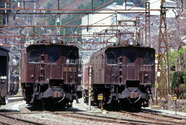 ED16 7号と4号機関車の写真素材 [FYI04270319]