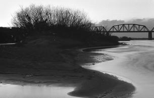 利根川夕景の写真素材 [FYI04270351]