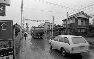 開業した武蔵野線沿線の町 吉川町にての写真素材 [FYI04270394]