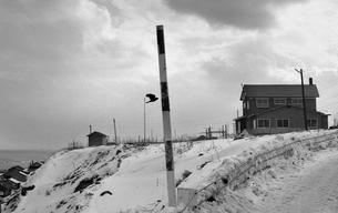 厳冬の天売島の写真素材 [FYI04270519]