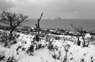 天売島より焼尻島を望むの写真素材 [FYI04270521]