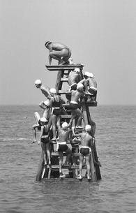 臨海学校富浦の海の写真素材 [FYI04270532]