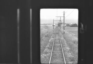 福井電鉄車窓の写真素材 [FYI04270533]