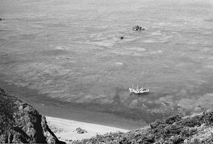 松前半島の海の写真素材 [FYI04270534]