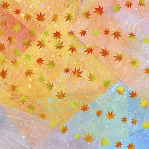 和紙に色彩構成の写真素材 [FYI04271350]