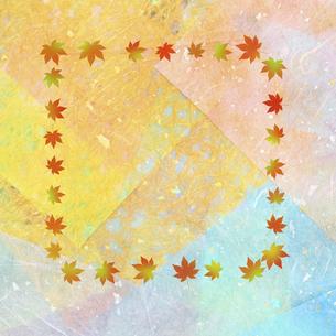 和紙に色彩構成の写真素材 [FYI04271354]