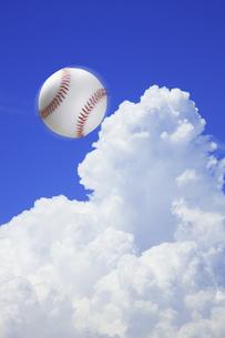 野球ボールの写真素材 [FYI04271671]