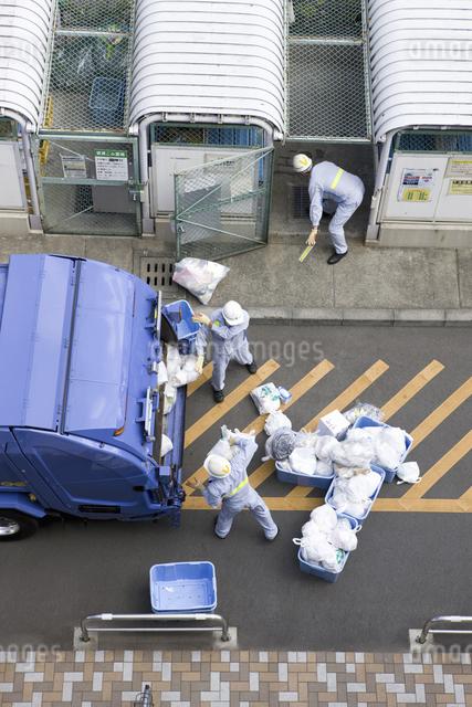 ゴミ収集の写真素材 [FYI04272865]