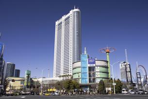 東京ドームホテルと後楽園の写真素材 [FYI04272882]