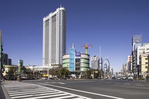 東京ドームホテルと後楽園の写真素材 [FYI04272883]