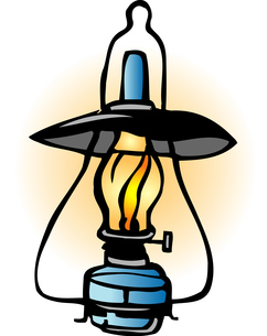 ランプのイラスト素材 [FYI04274650]