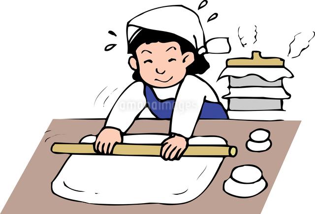 餅のしのイラスト素材 [FYI04274679]