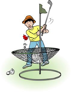 ターゲットゴルフのイラスト素材 [FYI04274945]