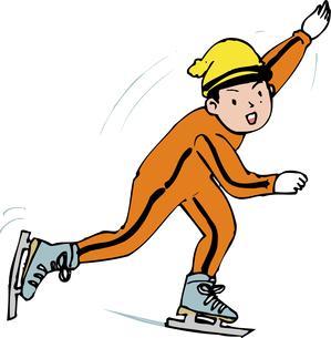 スケートのイラスト素材 [FYI04274986]