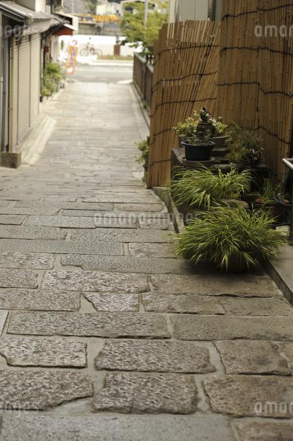 尾道の石畳の写真素材 [FYI04275375]