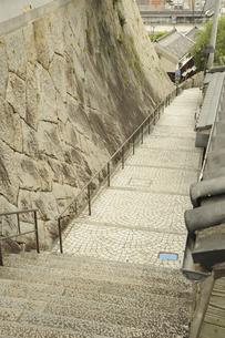 尾道の石段の写真素材 [FYI04275387]