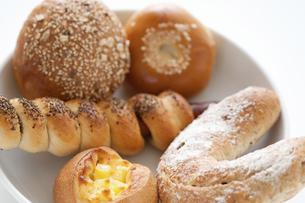 パン数種の写真素材 [FYI04276006]