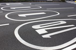 国道名の道路標示の写真素材 [FYI04276362]