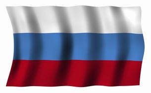 ロシアの国旗の写真素材 [FYI04276712]