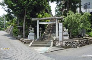 青梅散歩・勝沼神社の写真素材 [FYI04276907]
