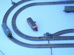 鉄道模型とレールの写真素材 [FYI04277410]