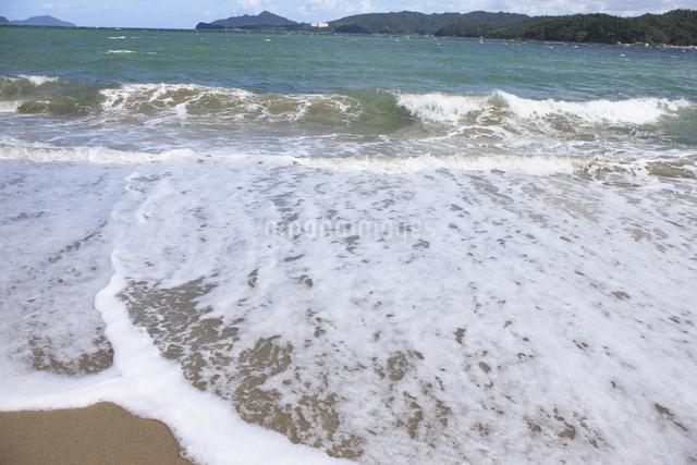 天橋立の砂浜の写真素材 [FYI04277732]