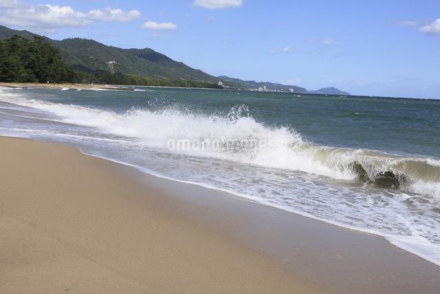 天橋立の砂浜の写真素材 [FYI04277735]