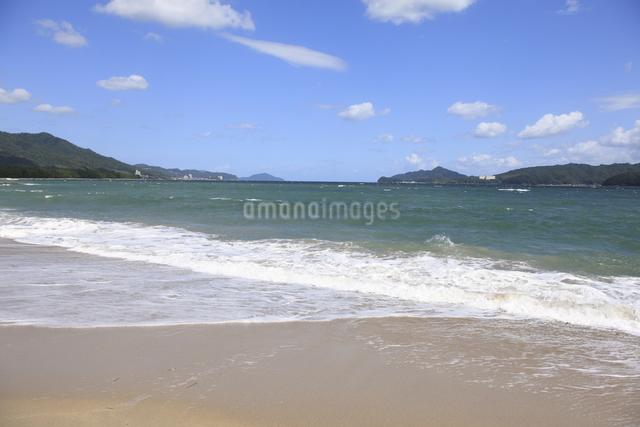 天橋立の砂浜の写真素材 [FYI04277739]